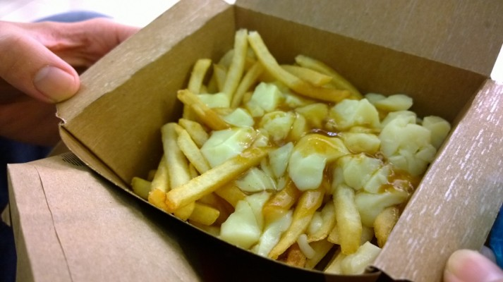 Did somebody say POUTINE? #mmmmm. Your dad likes poutine too! He knew poutine before you did.